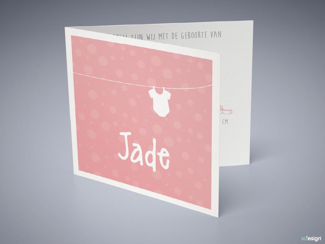 babykaart_geboortekaartje_xadesign_jade-voorzijde