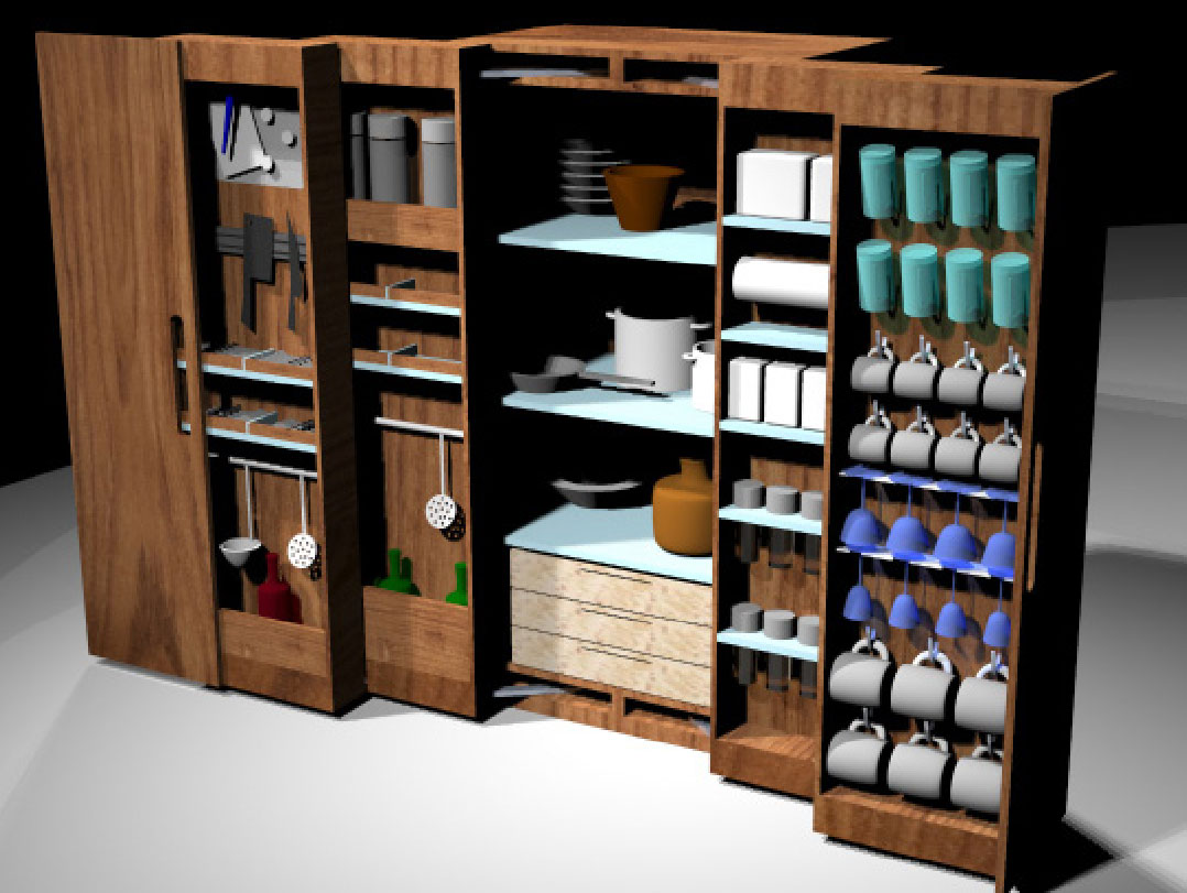 Cooking Cabinet