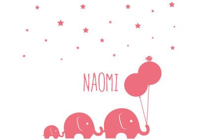 Geboortekaartje – Naomi