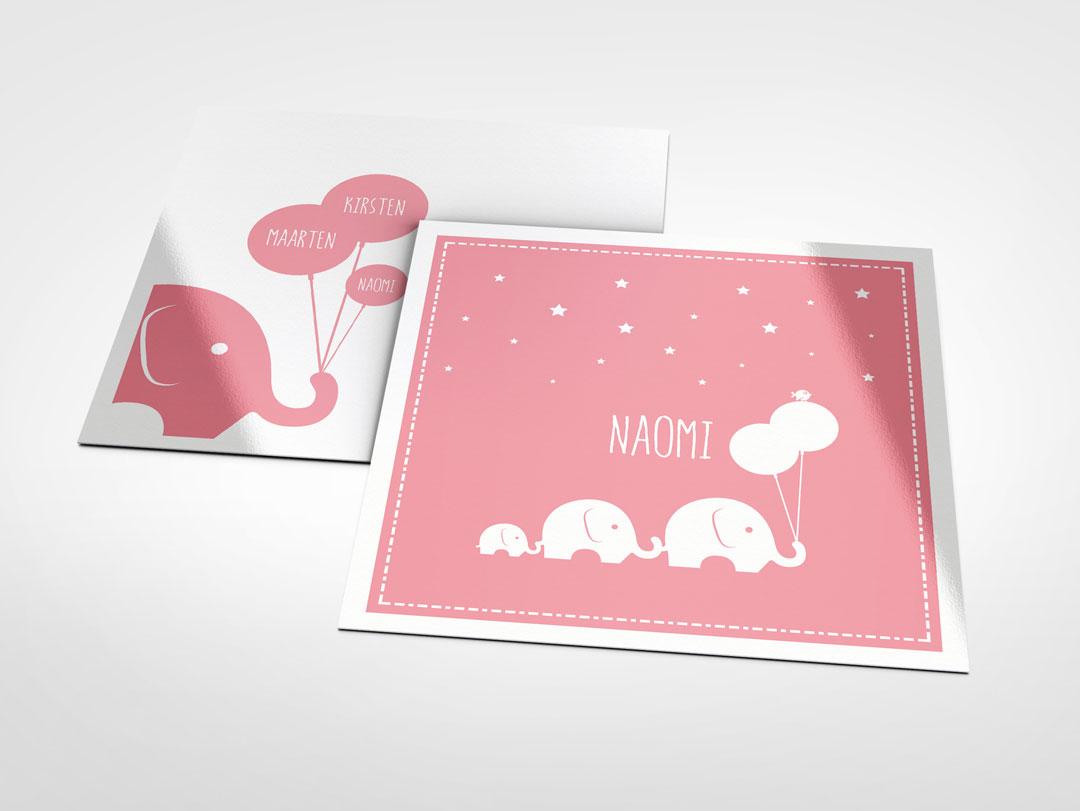 GEBOORTEKAARTJE_Naomi_XAdesign_Xander_Abbink_kaart