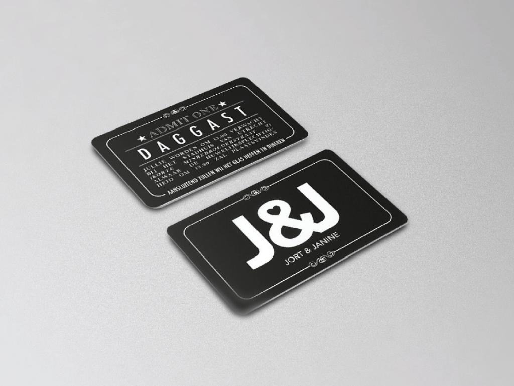 Jort_&_Janine_XAdesign_Xander_Abbink_trouwkaart-daggasten
