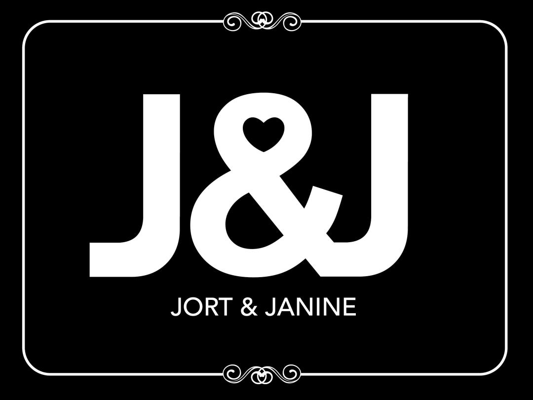 Trouwkaart Jort & Janine