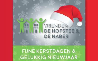 Kerstlogo Facebook voor De Hofstee & De Naber