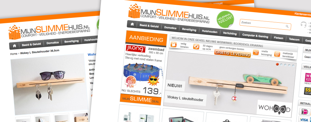 Wohood Wokey online: mijnslimmehuis.nl