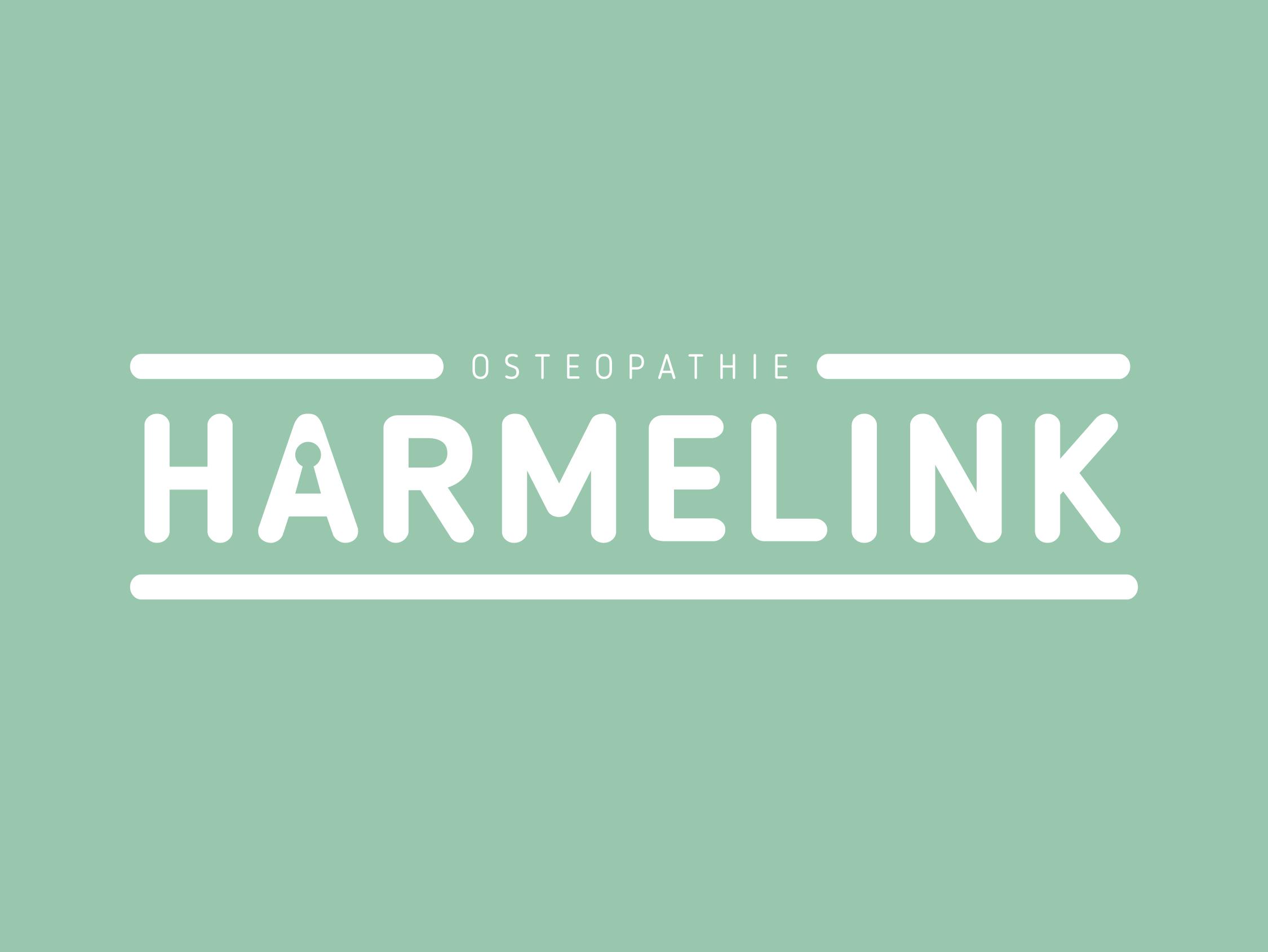 Osteopathie_Harmelink_XAdesign_Xander_Abbink_Logo_huisstijl-groen