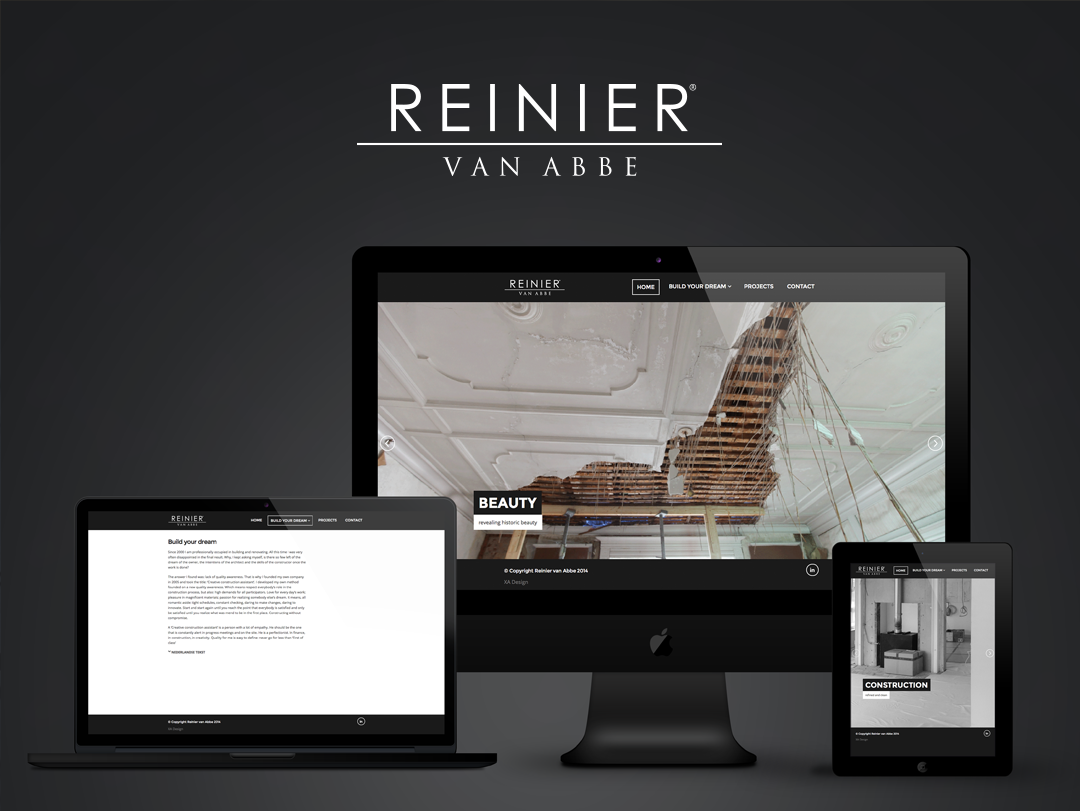 Reinier van Abbe website