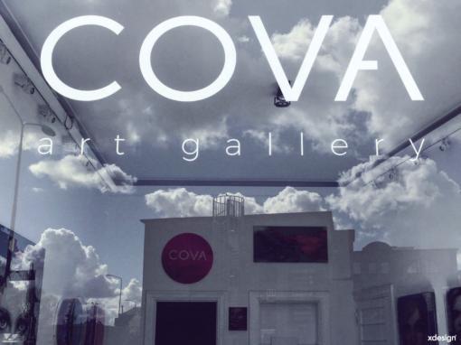 Belettering COVA Art Gallery