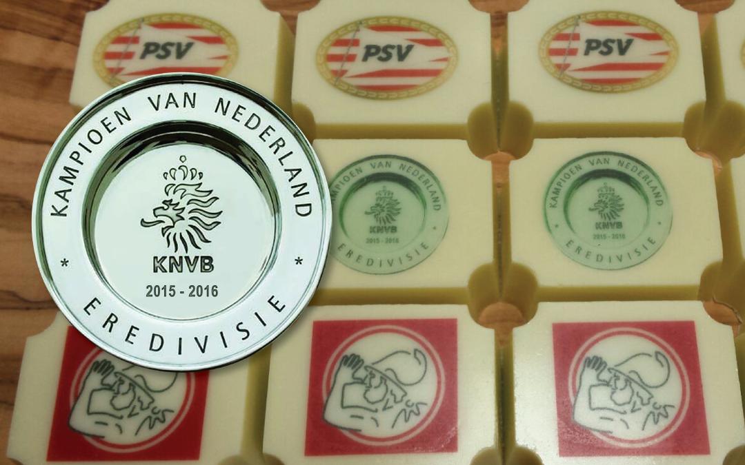 PSV kampioen bonbons opdracht