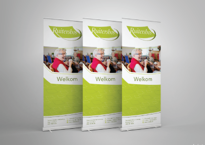Roll-up banner Ruitersbos