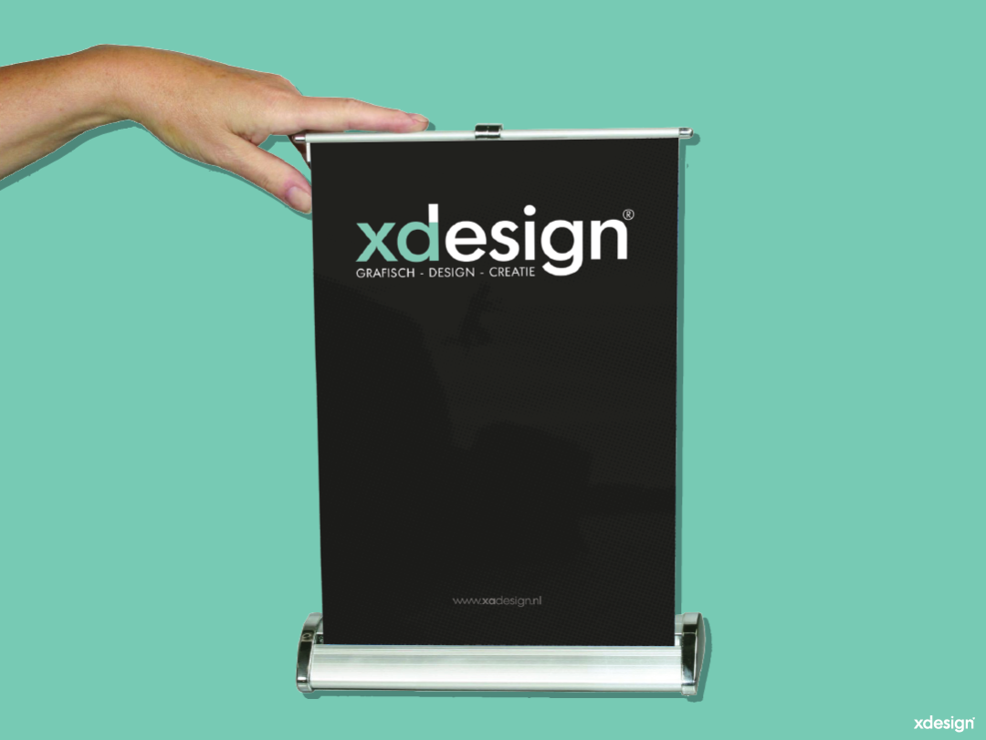 A3 Roll-Up Banner Mini