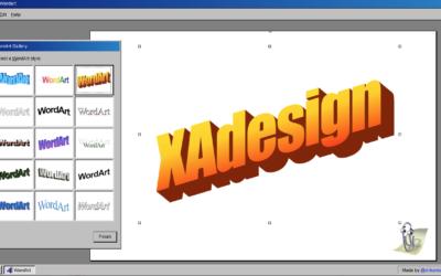 Maak je eigen nostalgische Microsoft WordArt